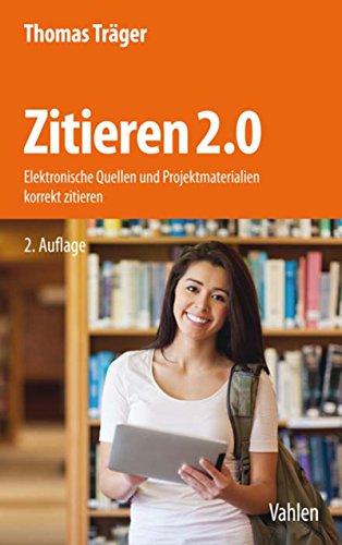 Träger, Thomas: Zitieren 2.0, 2. Auflage